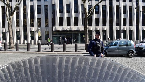 Se evacuó preventivamente la sede del Fondo Monetario Internacional.