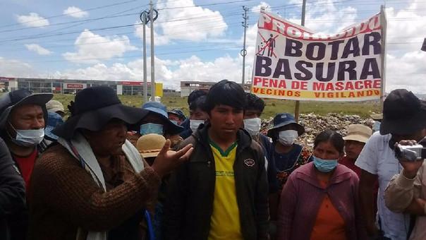 Comuna Juliaqueña  espera la decisión de las autoridades de Arequipa.