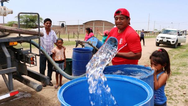 agua restringida