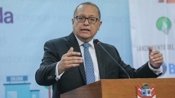 El ministro Tamayo indicó servicio eléctrico está garantizado.