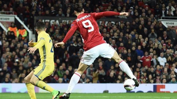 Ibrahimovic es el hombre gol del United.