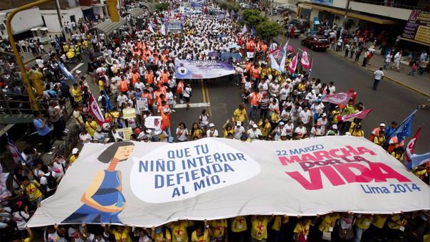 La Marcha por la Vida, cuyo objetivo es la