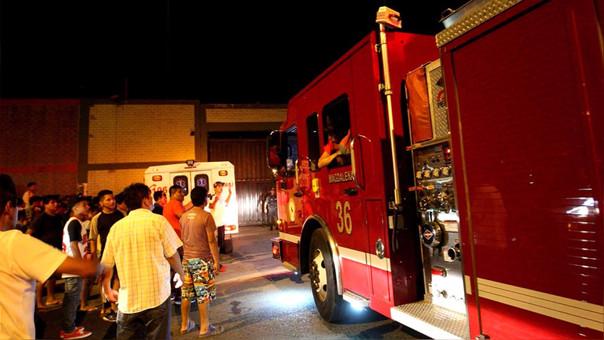 Los bomberos pidieron solidaridad a los peruanos y que se abstengan de reportar emergencias falsas.