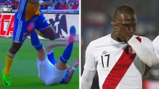 Luis Advíncula sufrió una torcedura en su rodilla izquierda. No es de gravedad pero se perderá la fecha doble de las Eliminatorias.