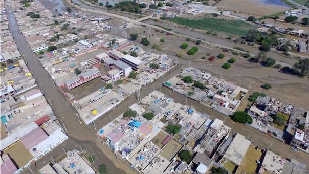 Las lluvias en Perú se dan por un atípico fenómeno climatológico de El Niño.