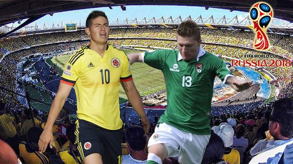 Colombia vs. Bolivia