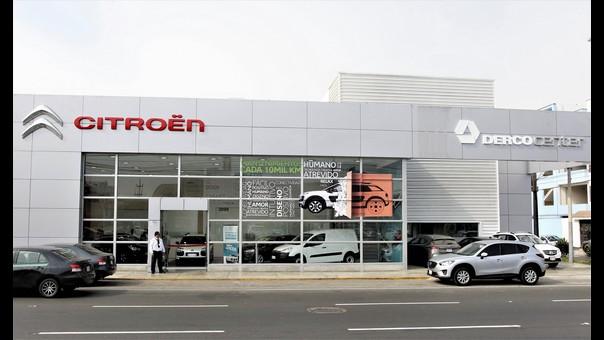 Tienda Citroën en Lima