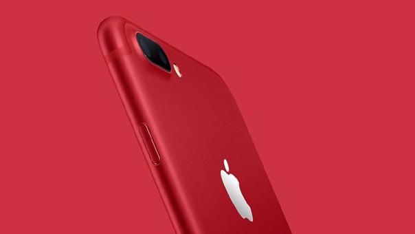 Así es el iPhone rojo que Apple pondrá a la venta.