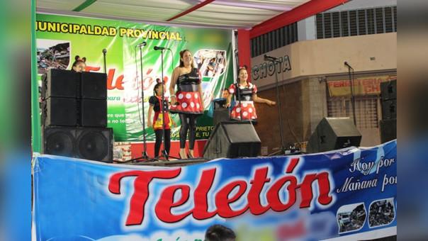 La Teletón en la provincia de Cutervo se realizará el próximo domingo 26 de marzo