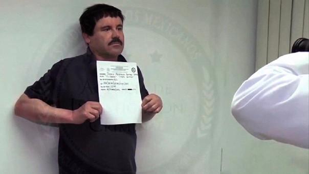 Joaquín El Chapo Guzmán es procesado en EE.UU.