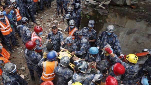 Los bomberos españoles son expertos en rescate de personas.