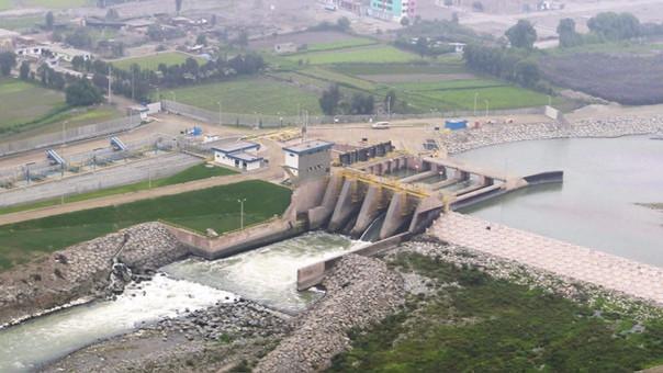 La planta de tratamiento del agua de Huachipa.