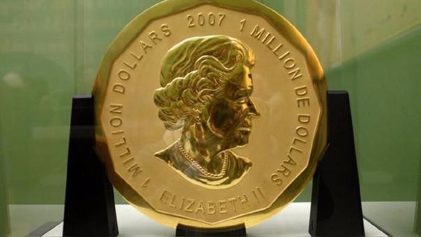 Espectacular robo de moneda de oro, policía alemana investiga