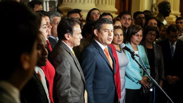 La bancada de Fuerza Popular cierra filas por su lideresa.