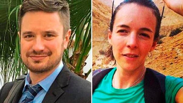 El norteamericano Michael Sharp y la sueca Zaida Catalán viajaron al Congo a investigar abusos de los derechos humanos.
