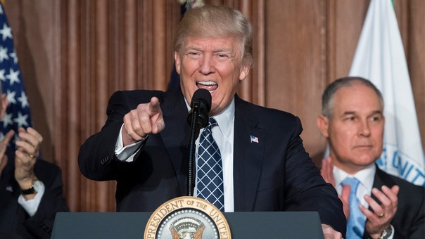 Donald Trump ha dicho que no cree en el calentamiento global y que este concepto es un invento de China.