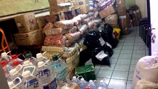 Peruanos en Chile reunieron ayuda