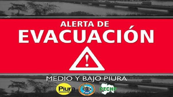 alerta evacuacion