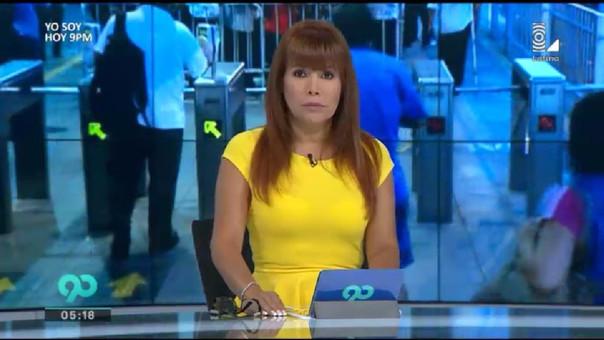 Magaly Medina es considerada una de las mujeres más poderosas de la televisión peruana.