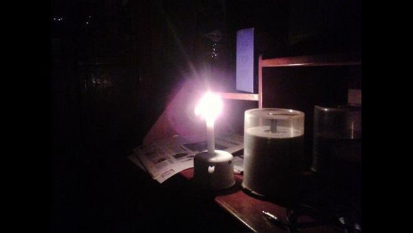 sin luz