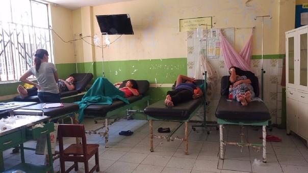 hospital campaña dengue