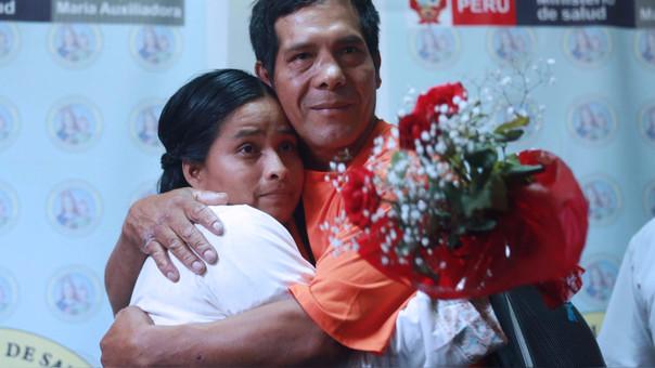 Evangelina Chamorro cría cerdos en Punta Hermosa.