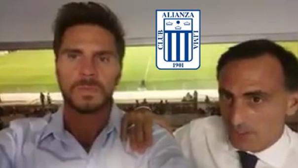Los comentaristas de Fox Sports se ganaron el cariño de los hinchas de Alianza Lima.