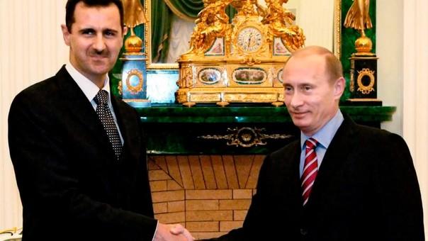 Putin ha sido el principal aliado de Al-Assad desde el inicio de la guerra civil en Siria.