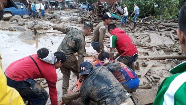 Cifra en Mocoa sube a 290 víctimas