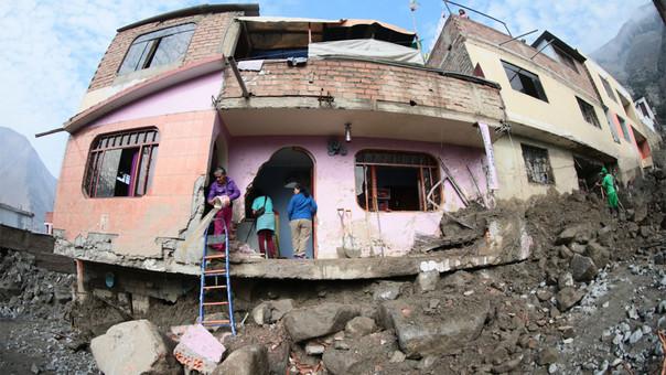 Más de 35 mil viviendas colapsadas o inhabitables deja el Fenómeno El Niño hasta el momento, informó el Indeci.