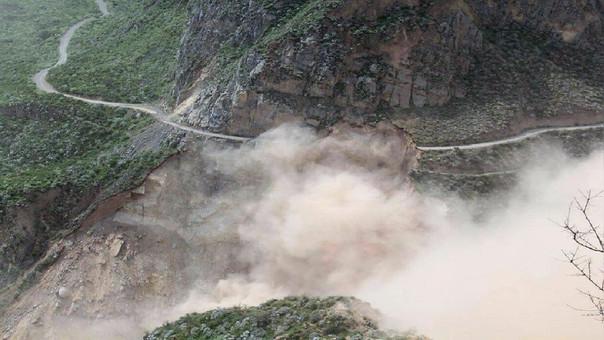 Carretera a Pampamarca