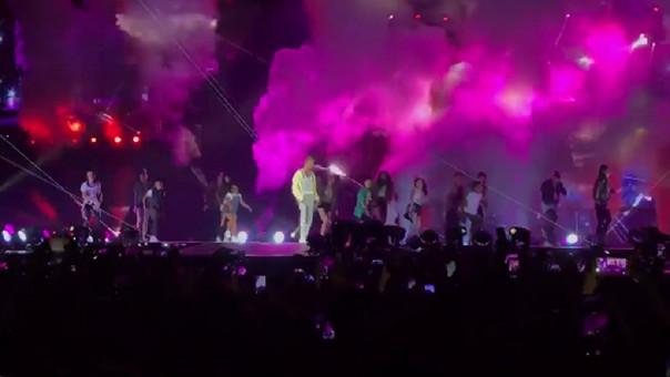 Justin Bieber cumplió el sueño de un grupo de niños peruanos.