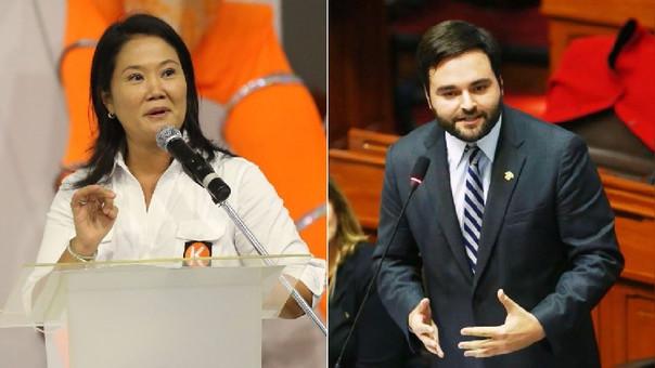Para De Belaunde, el voto de Fuerza Popular para derogar el decreto legislativo fue orden de Keiko Fujimori.