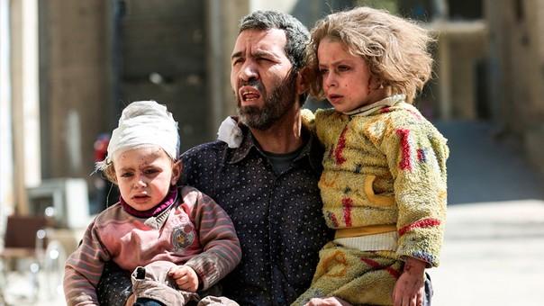 El ataque ha dejado, según el Observatorio Sirio de Derechos Humanos, al menos 86 muertos, de los cuales 30 era menores de edad.