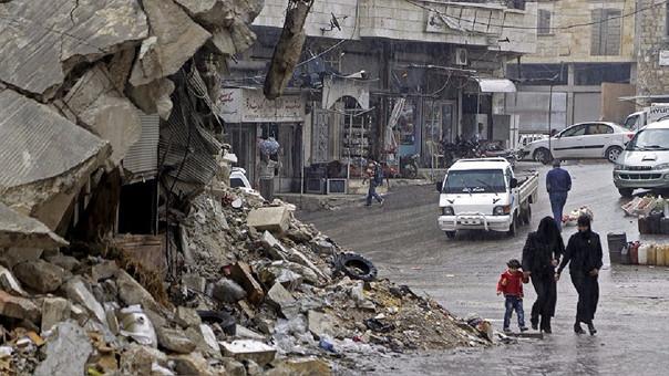 Millones de desplazados ha dejado la guerra que atraviesa Siria en los últimos años.