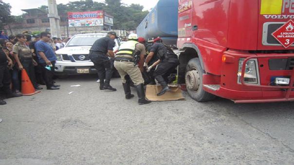 Accidente de tránsito dejó dos muertos en Tingo María.