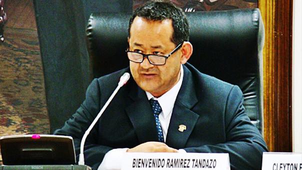 Bienvenido Ramírez es médico y representa al fujimorismo por la región Tumbes.