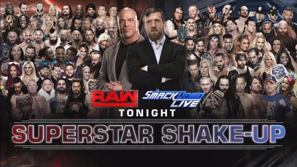 RAW se emite los lunes y Smack Down los martes.