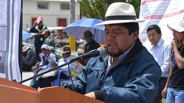 Azángaro: detienen a alcalde distrital de Asillo acusado de cohecho