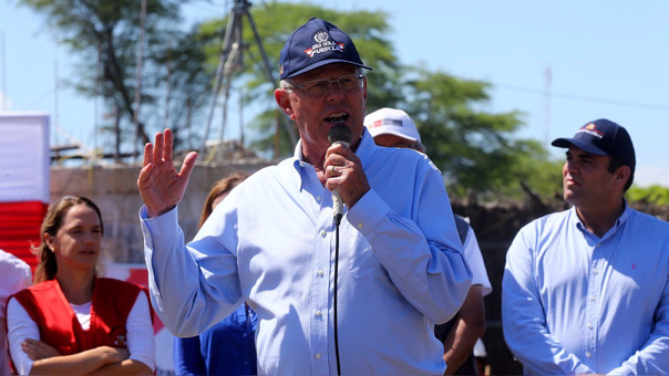 El presidente prometió volver a Piura para supervisar el avance de las obras.