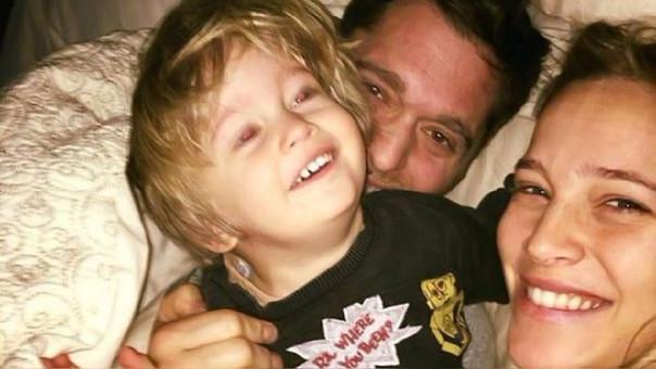 Luisana Lopilato se reincorporó a las grabaciones de la película 'Los que aman odian' y espera que su hijo se recupere completamente.