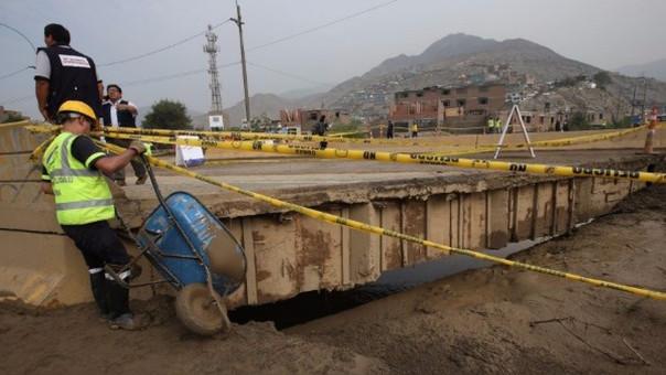 El distrito limeño fue uno de los más afectados por el paso de los huaicos e inundaciones.