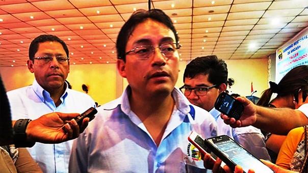 Enrique Vargas era el vicegobernador de Waldo Ríos y asumió su puesto tras la detención de este en octubre del año pasado.