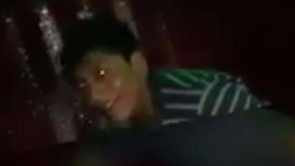 Este es el rostro del autor de la violación a la joven inconsciente. Ahora es buscado por la Policía Nacional.