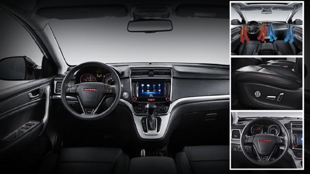 Haval H6 Dignity: con todos los gadgets que se imponen en una SUV moderna