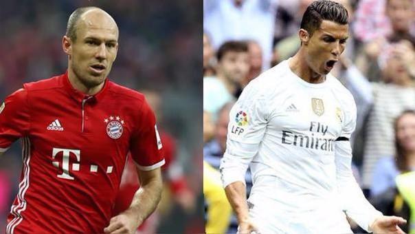 Real Madrid le saca ventaja en la Ida al Baryern