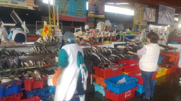 Mercado pesquero El Palomar