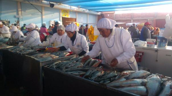 Mercado pesquero de Río Secp