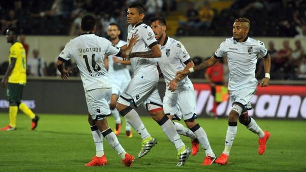 Por el momento, el Vitoria Guimaraes está brillando en la Liga de Portugal.