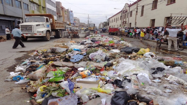 Sanciones por arrojar basura en las calles
